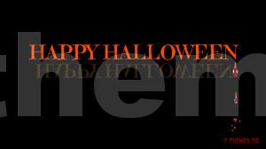e-card halloween für facebook, instagram, google+, pinterest